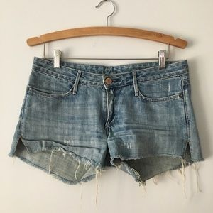 Earnest Sewn Cutoff Denim Jean Shorts - 28